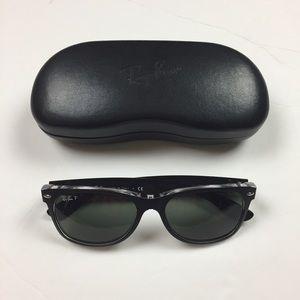 71b4e4869e8e RayBan New Wayfarer Prescription Black Sunglasses